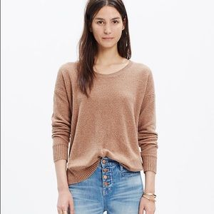 Madewell Chronicle Textured Pullover Sweater